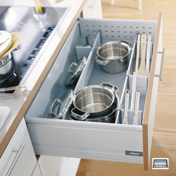 Pan Dividers Storage For Pots And Pans Pan Drawer Divider