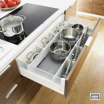 Pot And Pan Storage Kitchen Pan Drawer Dividers Pot