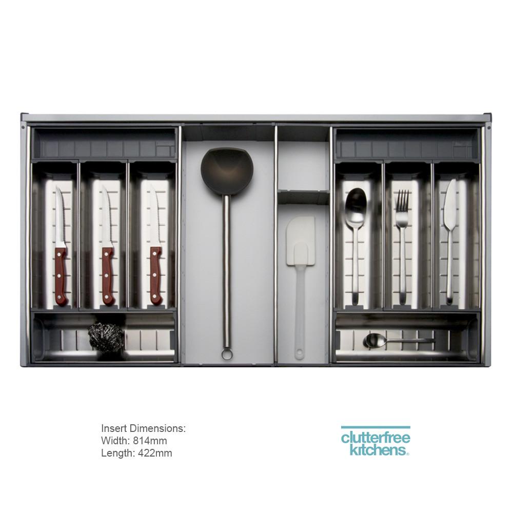 900mm Cutlery Insert Blum Orga Line Cutlery Cutlery