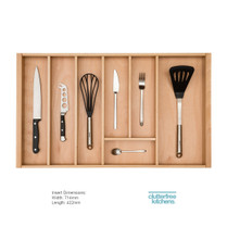 800mm Wooden Cutlery Tray