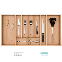 900mm Wooden Cutlery Tray