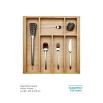 500mm Wood Cutlery Tray