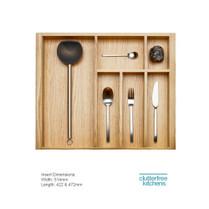 600mm Wood Cutlery Tray