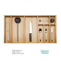 900mm Wood Cutlery Tray