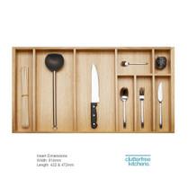 900mm Wood Cutlery Tray