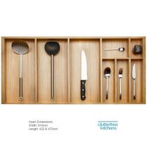 1000mm Wood Cutlery Tray