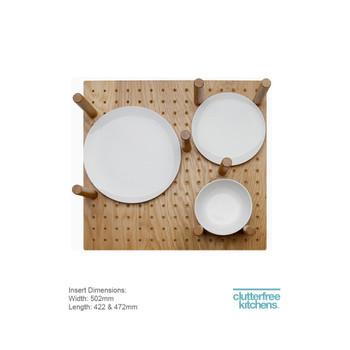 Adjustable Plate Storage