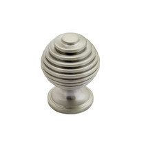 Beehive - Brushed Nickel Knob