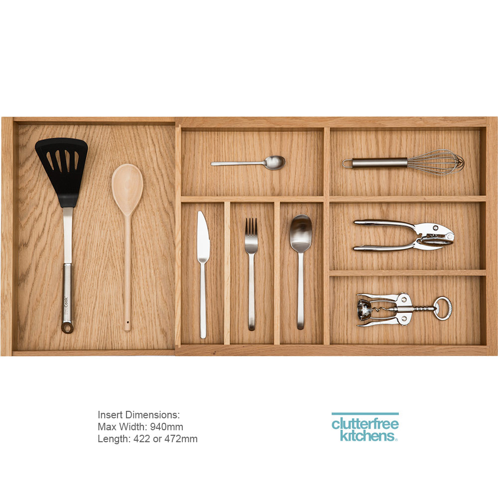Expanding Cutlery Tray