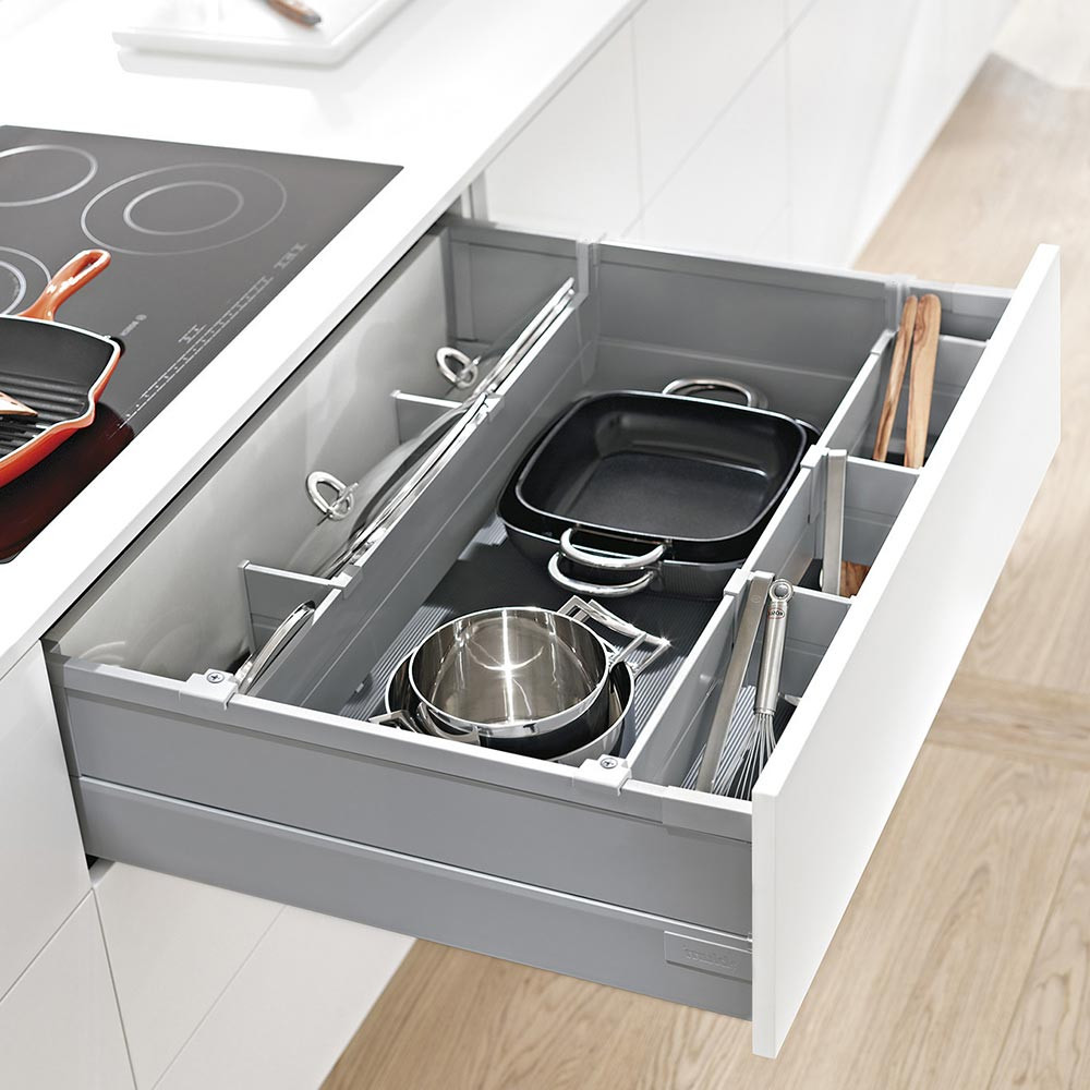 Modular Kitchens: Antaro Drawer Pan Storage Set