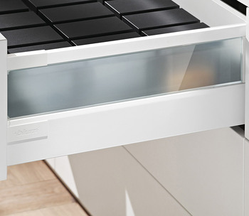 Blum Antaro Drawer Glass Insert Clutterfree Kitchens