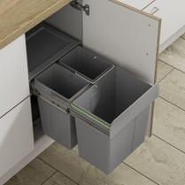 40L Trio Recycling Waste Bin