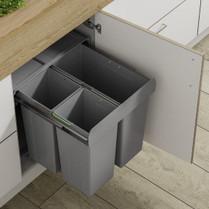 68L Recycling Trio Waste Bin