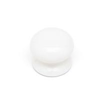 Ceramic - White Plain Knob