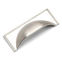 Windsor - Brushed Nickel Cup Handle