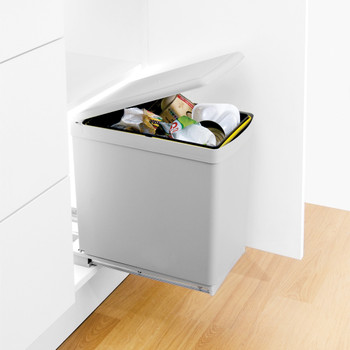 automatic bin for kitchen cabinets rh clutterfreekitchens co uk kitchen cupboard waste bins amazon kitchen cabinet waste containers