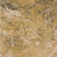 "Happy Floors Pietra D' Assisi Ocra 8""X8"""