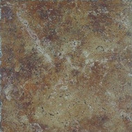 "Happy Floors Pietra D' Assisi Rosso 8""X8"""