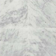 "Daltile Marble Carrara White CD Honed 12"" x 12"""