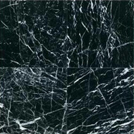 "Daltile Marble China Black Polished 12"" x 12"""