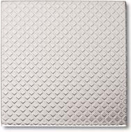 "Crossville Tile Stainless Series 4""X4"" Diamonds Stainless Steel"