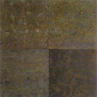 "Daltile Imported Slate Brazil Multicolor Natural Cleft 12""X12"""