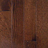"Mullican Hardwood Muirfield 2 1/4"" Oak Dark Chocolate"