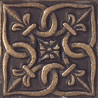 "Puccini Metal Tile Lucca Series Manon AB 2""X2"""