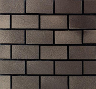 "Daltile Urban Metals Bronze 1""X2"" Brick Joint"