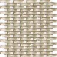 Interceramic Pietra Crystal Crema Serpentine Mosaic