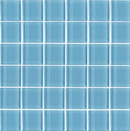 "Interceramic Interglass Shimmer Daylight 3"" x 6"" Tile"