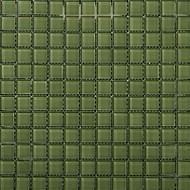 "Emser Tile Lucente Billiard Green Mosaic 1"" x 1"""