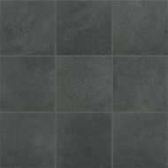 "Crossville Tile Main Street Boutique Black 6"" x 6"""