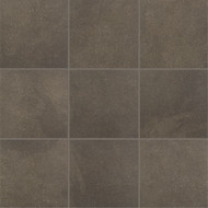 "Crossville Tile Main Street Bistro Brown 18"" x 18"""