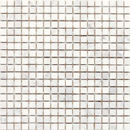 "Daltile Stone a' la Mod 1/2"" x 1/2"" Contempo White Polished"