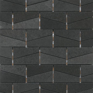 "Daltile Stone a' la Mod 2"" x 3"" Urban Bluestone Wedge Polished"