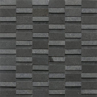 "Daltile Stone a' la Mod 2"" x Random Urban Bluestone High/Low Polished and Honed"