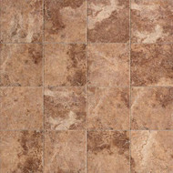 "Marazzi Western Stone Klondike (Red) 6"" x 8"" Cove Base"
