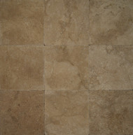 "Bedrosians Pavers Travertine Tile Mirage Tan 16"" x 16"""