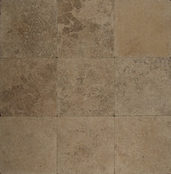 "Bedrosians Pavers Travertine Tile Mocha Jura 16"" x 24"""