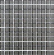 "Interceramic Interglass Shimmer Pewter 3"" x 6"" Tile"