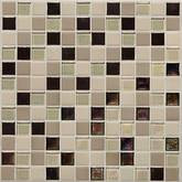 "Daltile Coastal Keystones Sunset Cove Mosaic 1"" x 1"""