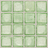 "Daltile Egyptian Glass Palm Clear Mosaic 1"" x 1"""