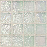 "Daltile Egyptian Glass Opal Iridescent Mosaic 1"" x 1"""