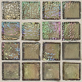 "Daltile Egyptian Glass Camel Iridescent Mosaic 1"" x 1"""