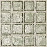 "Daltile Egyptian Glass Sand Clear Mosaic 2"" x 2"""