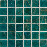 "Daltile Elemental Glass Turquoise Mosaic 3/4"" x 3/4"""