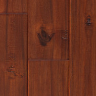 Elegance Engineered Exotic Handscraped Exotic Mahogany Acacia 4.75""