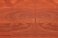 Elegance Solids Exotic Smooth Santos Mahogany Balsamo 3.5""