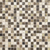 Daltile Stone Radiance Kinetic Morning Sun/Tortoise/Mushroom Blend Mosaic